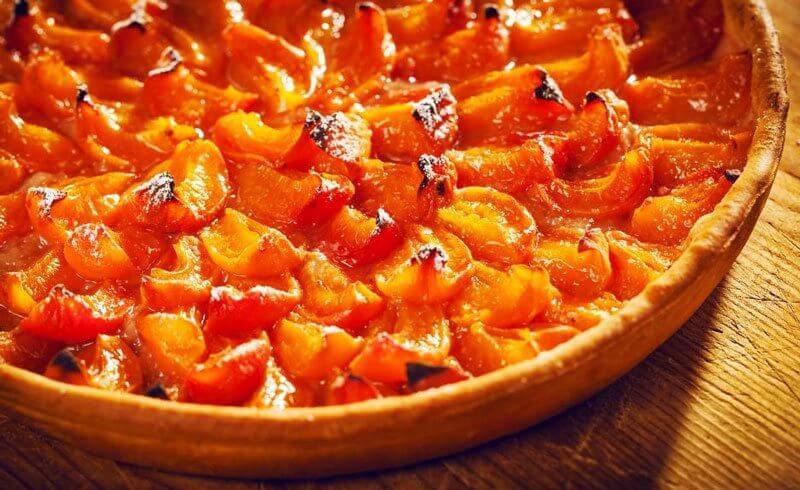 Swiss Valais Apricot Tarte