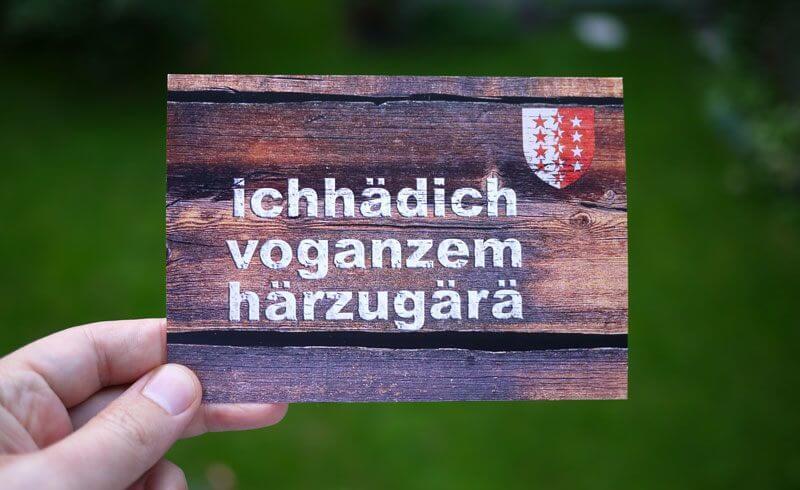 Swiss Valais - Dialect