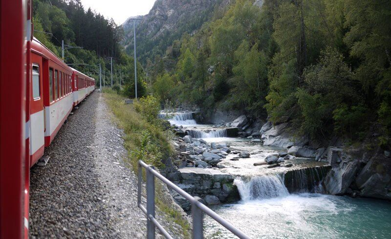 Swiss Valais - Train