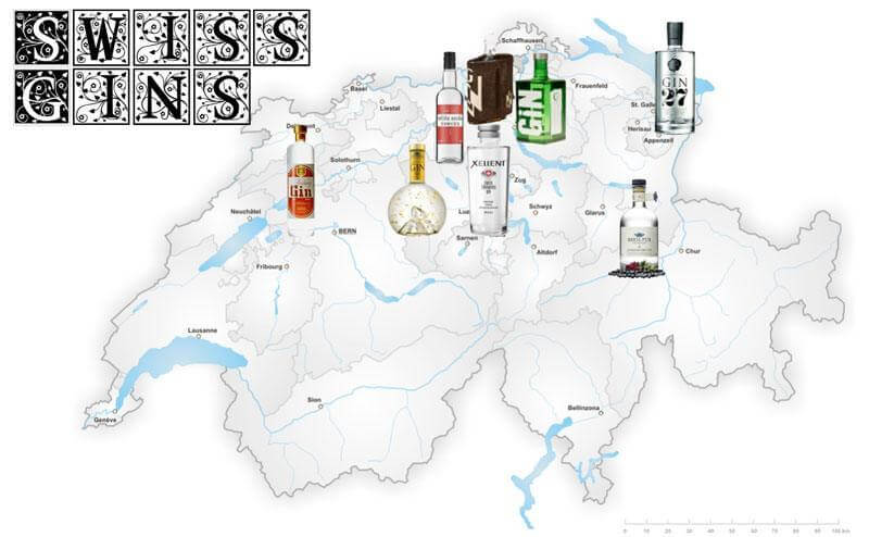 Switzerland Gins - Swiss Gins