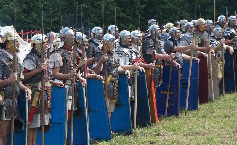 Roman Festival Augst - 2014 - Soldiers