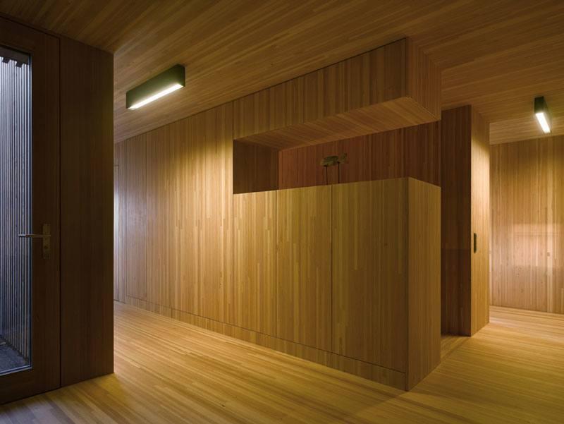 Wooden Architecture in Viznau, Switzerland