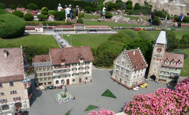 swissminiatur in Melide - Miniature Switzerland