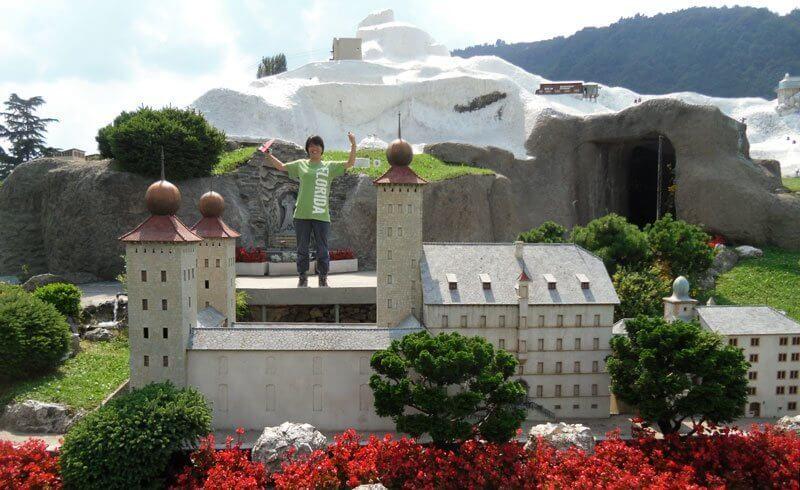 swissminiatur in Melide - Miniature Switzerland