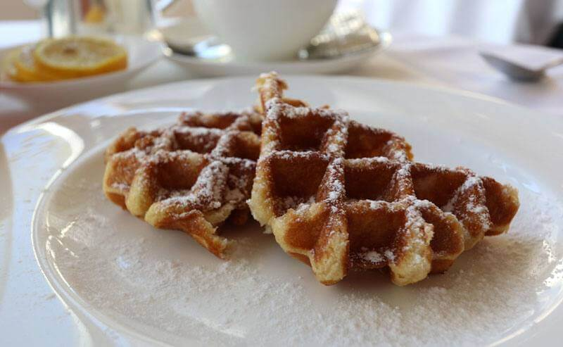Hotel Trois Couronnes Vevey - Breakfast Waffles