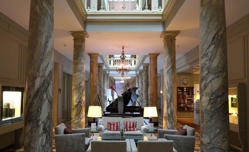 Hotel Trois Couronnes Vevey - Lobby