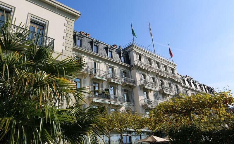Hotel Trois Couronnes Vevey - Exterior