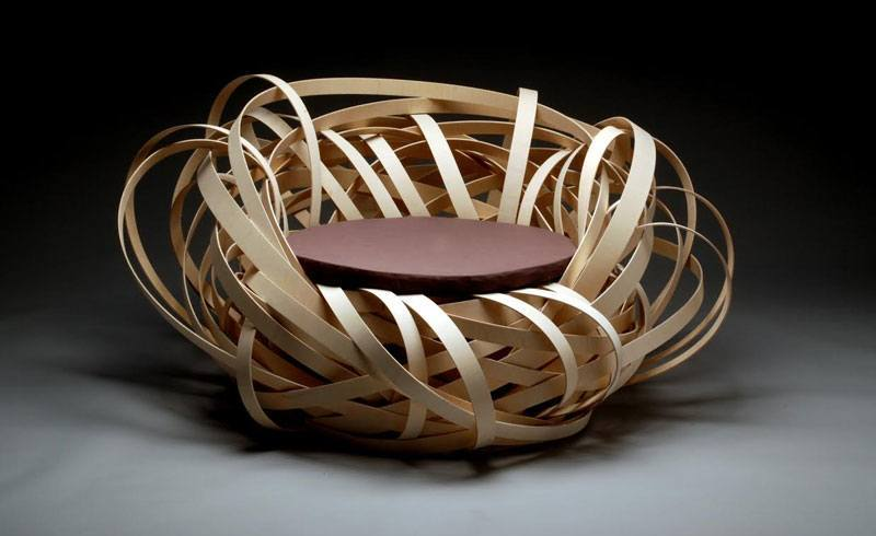 Blickfang Zurich 2014 - Royal Academy Kopenhagen Nest Chair by Nina Bruun