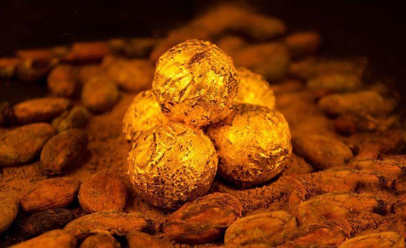 Edible Gold Chocolate