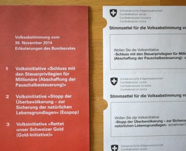 Swiss Direct Democracy in Switzerland