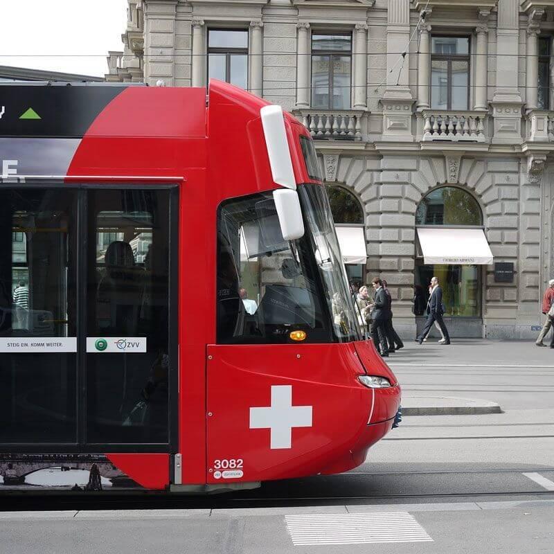 Swiss Tram in Zürich