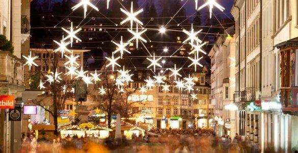 Advent in St. Gallen City of Stars