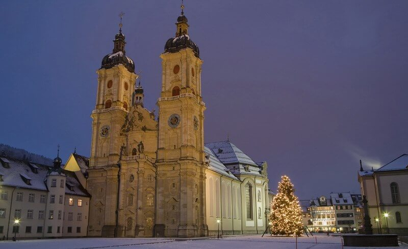 Advent in St. Gallen City of Stars