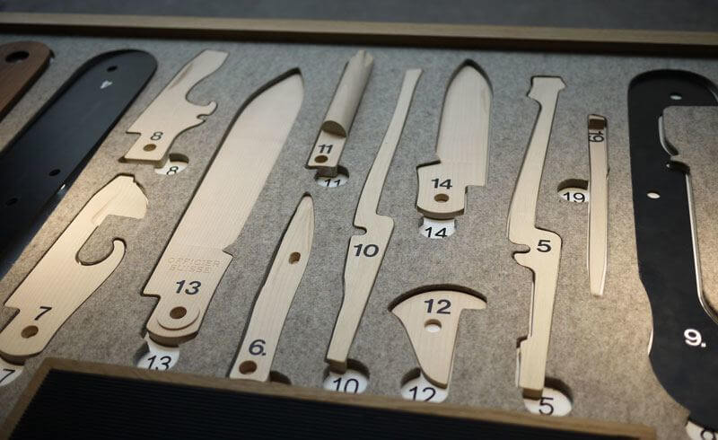 How To Build A Swiss Army Knife 130 Years Of Victorinox