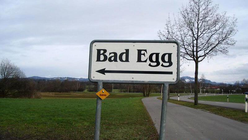Bad Egg, Switzerland