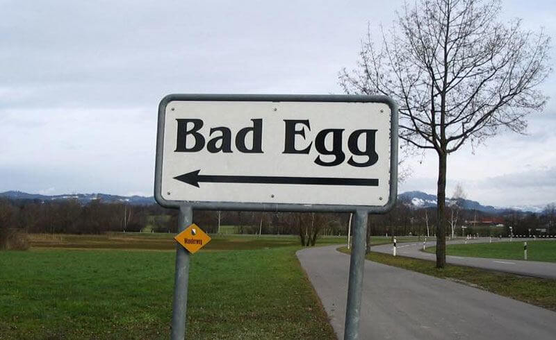 Bad Egg, Switzerland