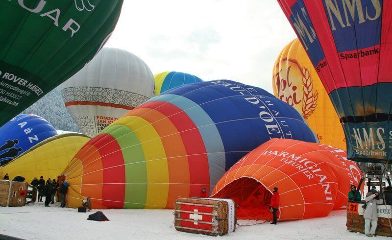 International Balloon Festival 2015 - Chateaux d'Oex