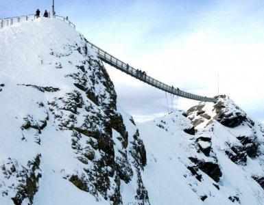 Glacier 3000 Peak Walk, Gstaad, Switzerland