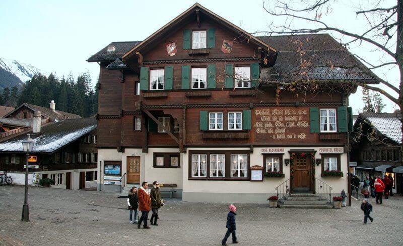 Posthotel Rössli - Gstaad, Switzerland