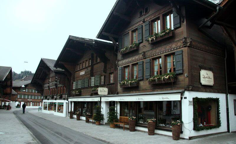 Main Street Promenade - Gstaad, Switzerland
