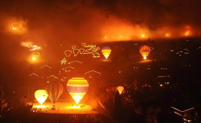 International Hot Air Balloon Festival 2015 - Night Glow
