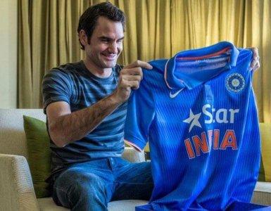 Roger Federer Cricket Faux Pas