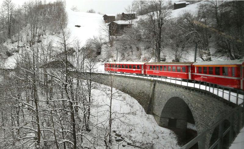Rhaetische Bahn - Chur to Arosa