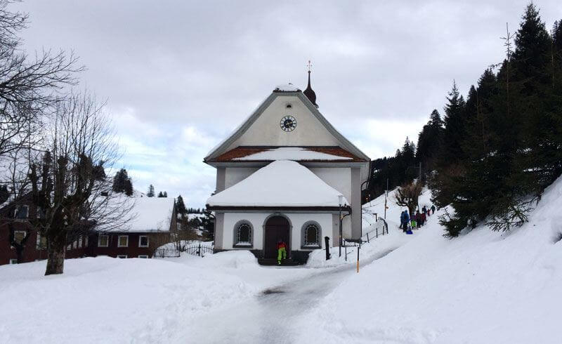 Church on Mt. Rigi, Switzerland
