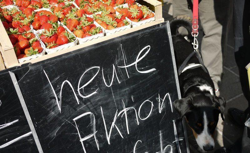 Market Day in Switzerland