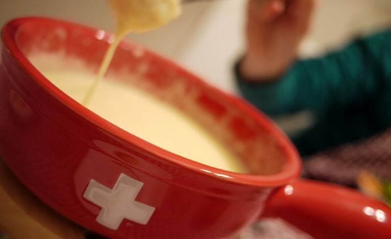 Swiss Cheese Fondue