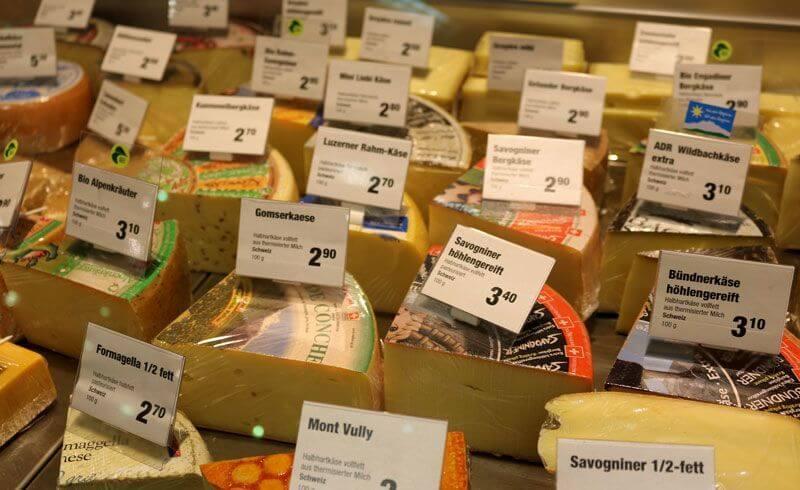 Swiss Cheese Varieties