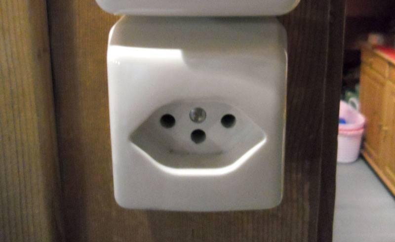 Swiss Power Socket