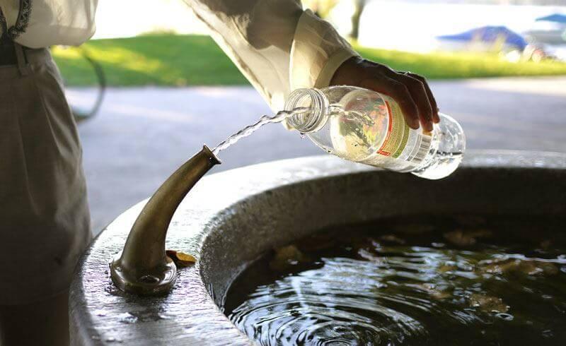 Switzerland Fountain Water