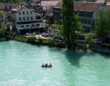 Bern, Switzerland - Aare River