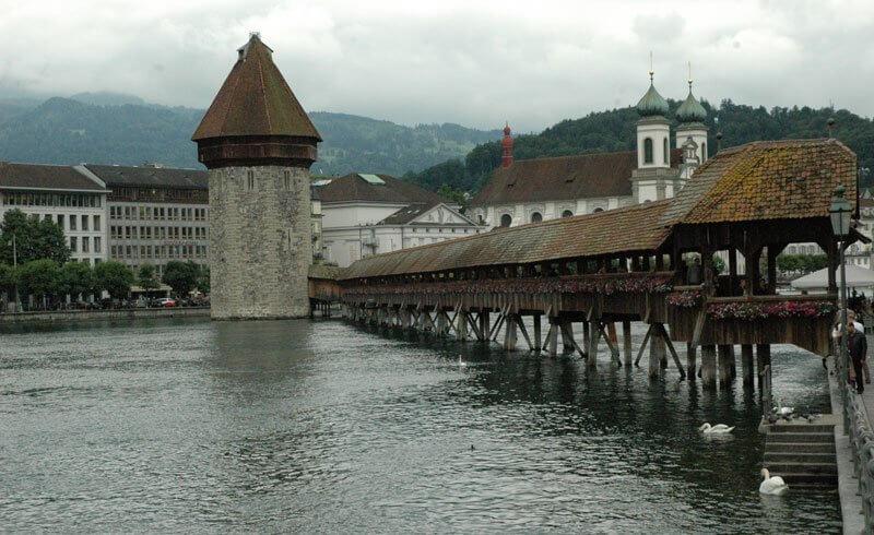 Lucerne - Kapeller Bridge