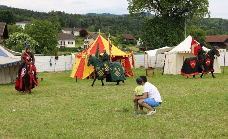 Medieval Festival Hinwil - Mittelalterspektakel turnei.ch