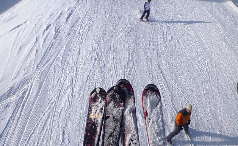 Skiing Flumserberg