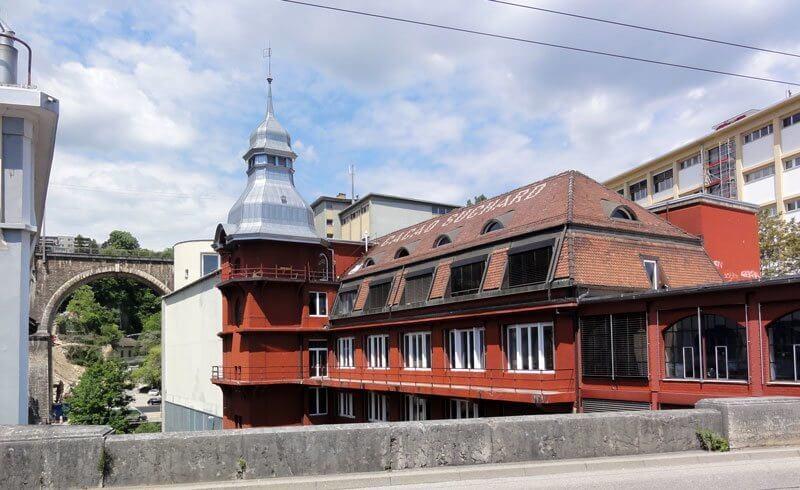 Suchard Factory Neuchâtel
