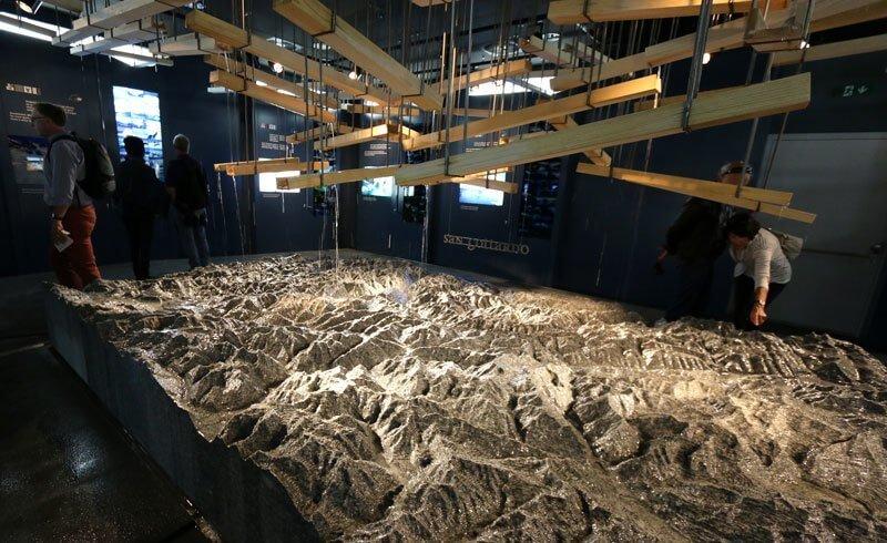 Swiss Pavilion Expo 2015 - San Gottardo