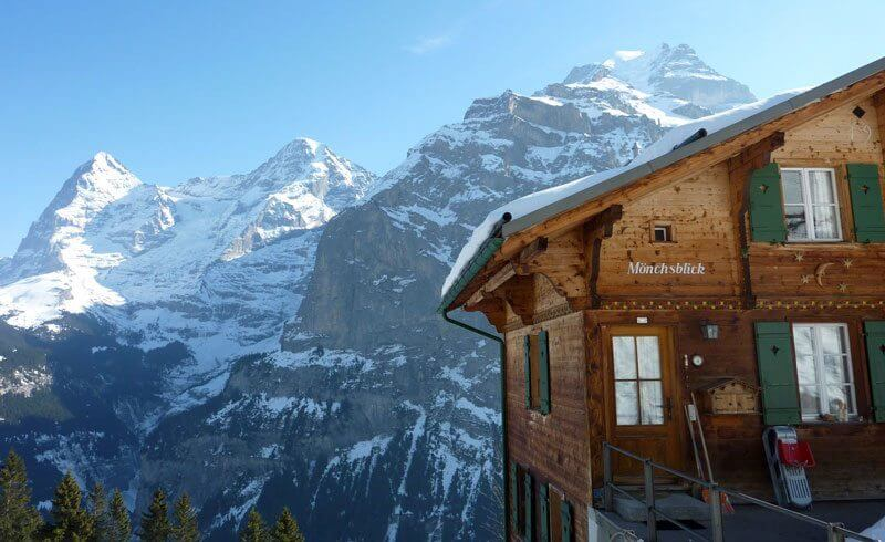 Switzerland Chalet in Muerren