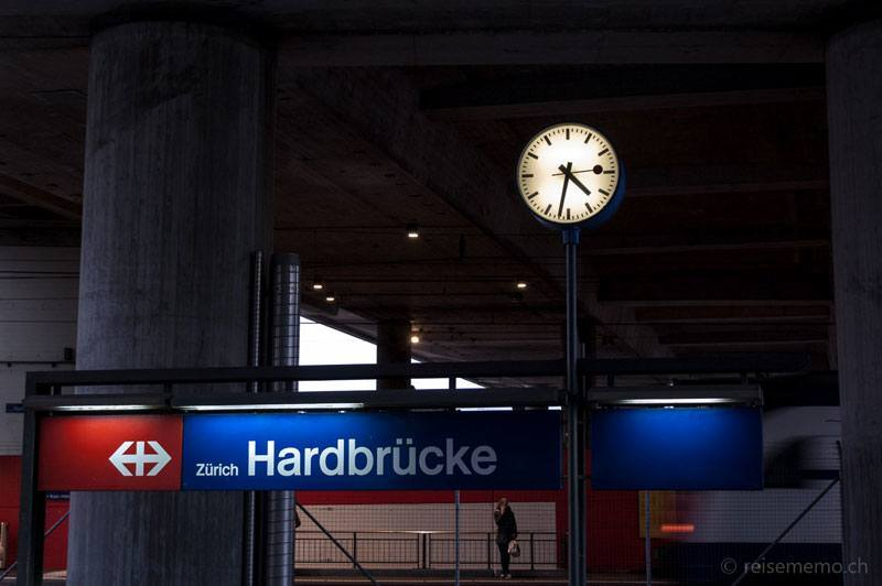Train Station Zurich Hardbruecke