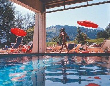 Hotel Gstaad Palace, Gstaad (BE) undatiert (um 1970) Kunstanstalt Brügger, Meiringen
