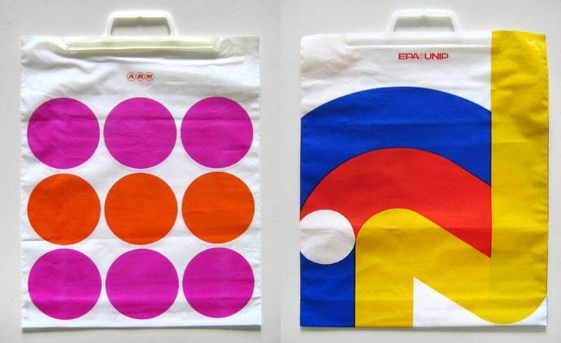 Vintage Swiss Grocery Bags (Copyright by WANKEN)
