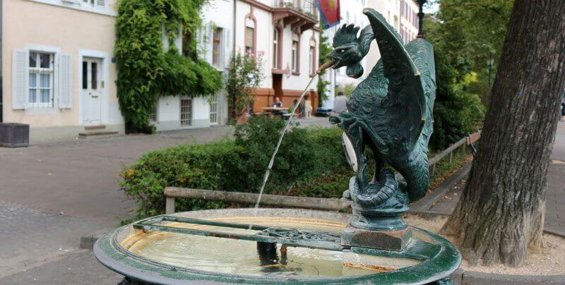 Basel Basilisk Fountain