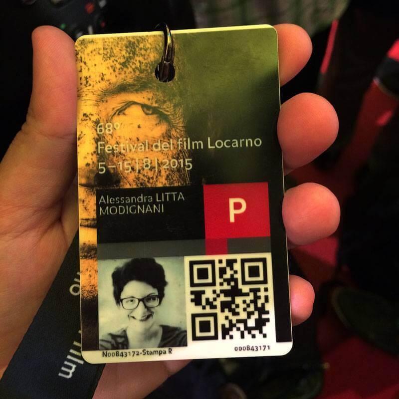Festival del Film Locarno 2015 - Accreditation