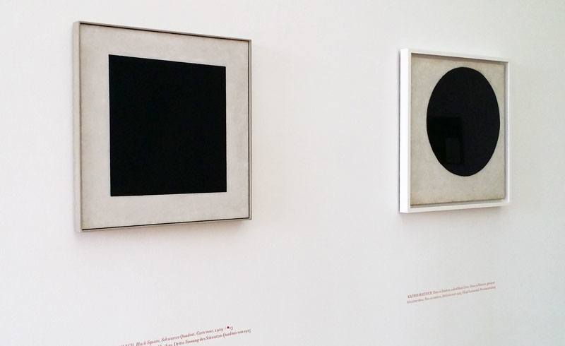 In Search of 0,10 - Kazimir Malevich - Black Square Black Circle