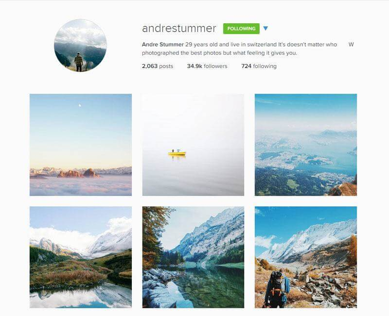 Swiss Instagrammers - andrestummer