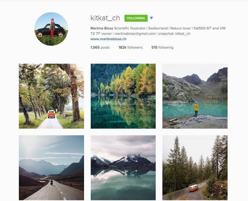 Swiss Instagrammers - kitkat_ch