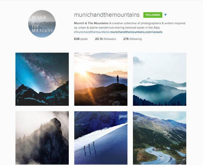 Swiss Instagrammers - munichandthemountains