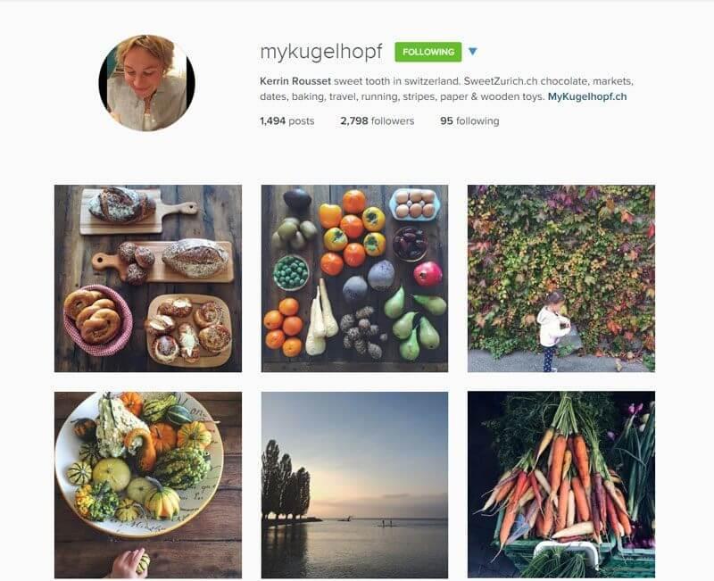 Swiss Instagrammers - mykugelhopf